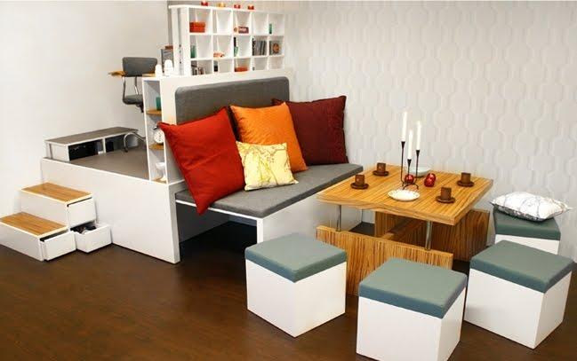 Atelier s owi ski architektura wn trz tak jak lubi for Arredamenti moderni per case piccole