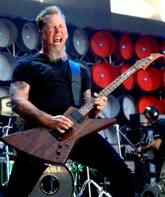 James Alan Hetfield (born August 3, 1963, in Downey, California is