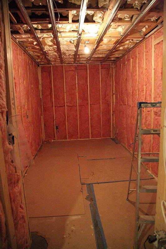 8footsix basement underpin week ten wrap up for Basement insulation wrap