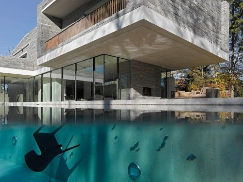 Casas minimalistas house m by titus bernhard casa for Viviendas minimalistas