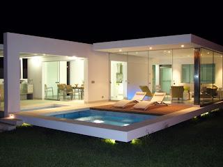 Arquitectura arquidea casas minimalistas en la playa for Casa de diseno henry beltran