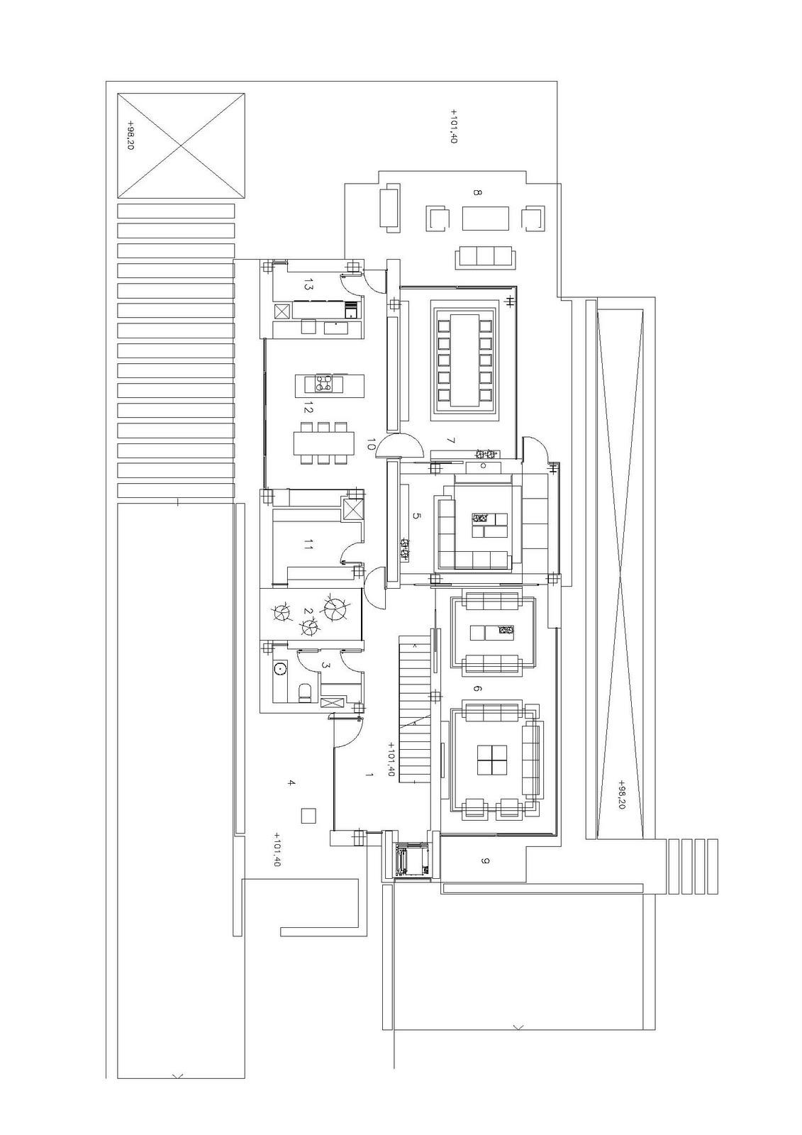 Arquitectura arquidea vivienda unifamiliar en las rozas for Vivienda unifamiliar arquitectura