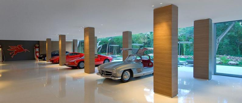 Pavimentos y revestimientos para el garage for Garage auto b2