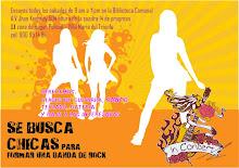SE BUSCA CHICA PARA BANDA DE ROCK