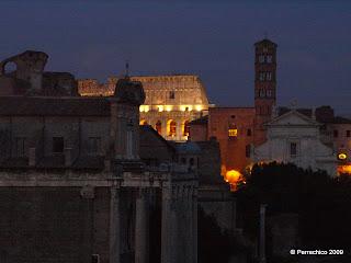 Roma,  foro, anfiteatro flavio, Colisseo, Italia
