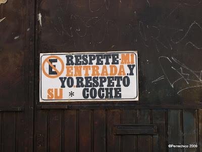 cartel avisador localizado en Morelia, México