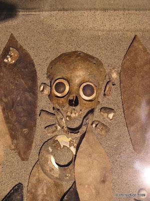 calavera mexicana, cultura azteca