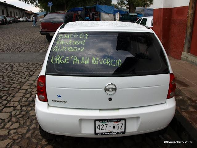 México, Patzcuaro, Michoacán, carteles sorprendentes