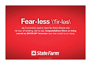 "Not sure why State Farm thinks ""Fearless"" is pronounced ""FIRles""—maybe it's ."