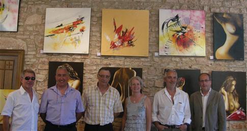Exposition de Lamarche/saône Juin/juillet 2010
