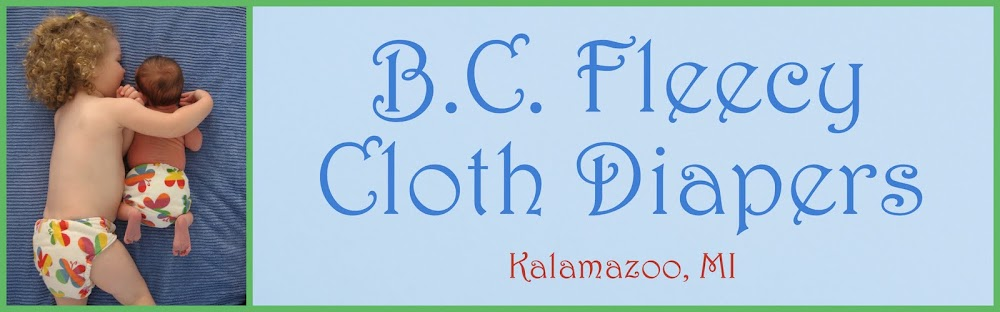 B.C. Fleecy Cloth Diapers