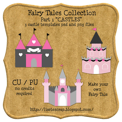Fairy Tales Template By Lisete Preview+jpg
