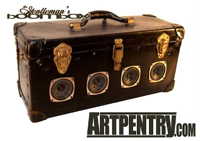 "Artpentry's ""Gentleman's Boomboxes"" Ripped Off by Copycat Artist?"