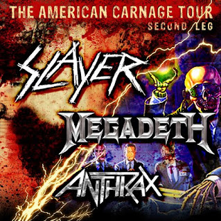 Slayer/Megadeth/Anthrax Show Review @The Rave, Milwaukee Sat Oct 16