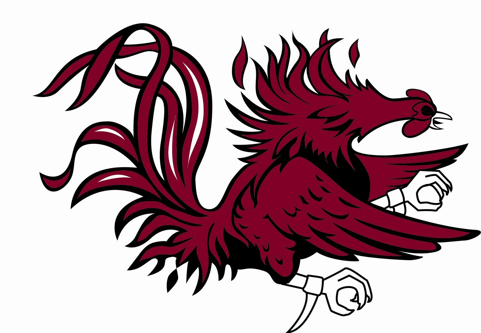 south carolina gamecocks logo emblems for battlefield 1 rh emblemsbf com usc gamecock clipart free usc gamecock clipart free