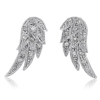 Eve S Addiction Angelic Sterling Silver Wing Earrings 35 2 New Outlet Angel Stud 10 More Soon Adriana