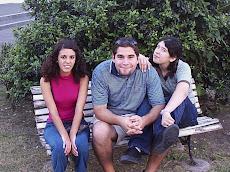 Con Dario y Gaby
