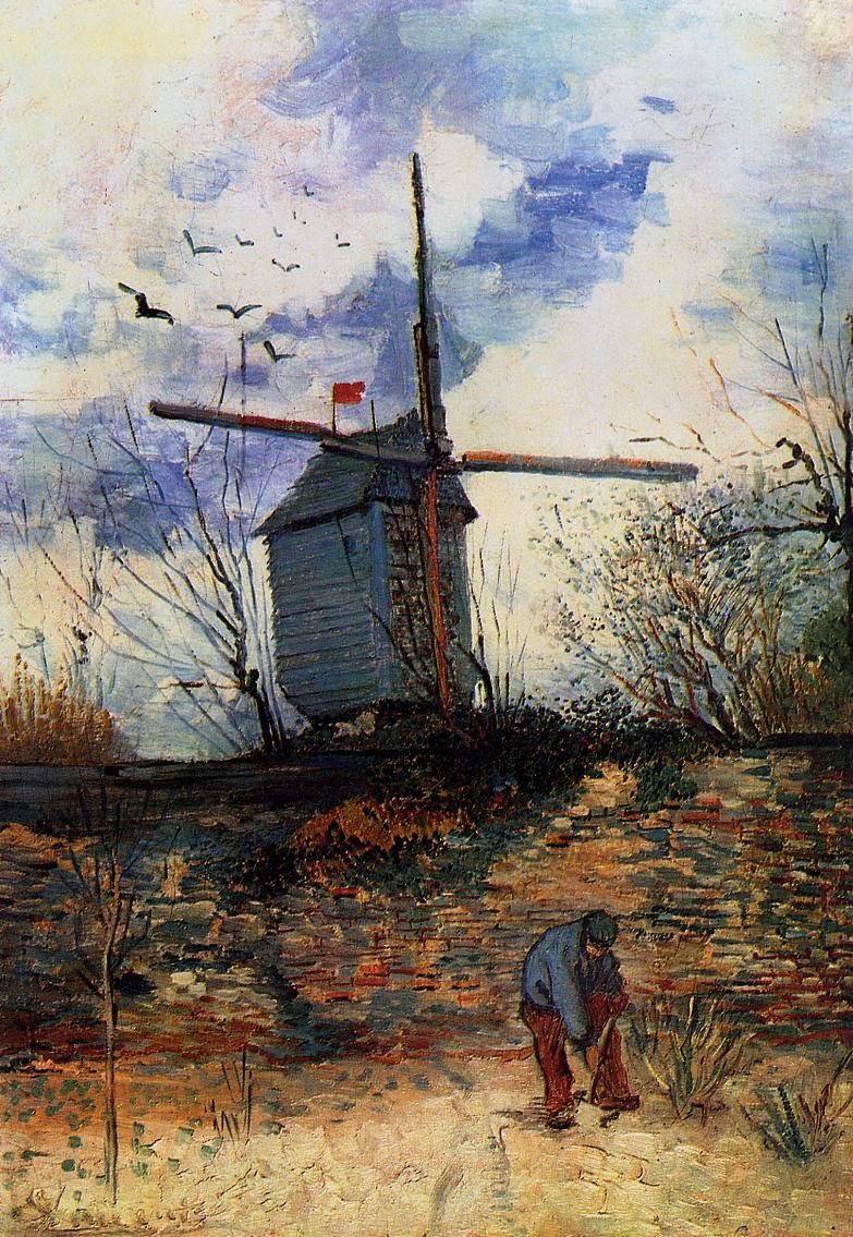 I moulins di montmartre chez edmea for Moulin de la housse
