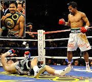 Manny Pacquiao KO's Ricky Hatton Photographed by: John Iacono/SI