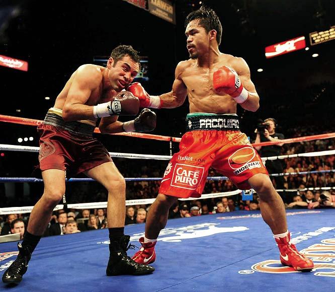 oscar de la hoya vs manny pacquiao. Manny Pacquiao vs. Oscar De La