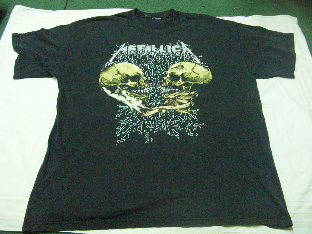 Gerobok Klasik Metallica Sad But Truetshirt Sold Kaos Metalica