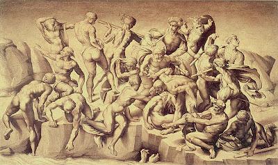 La batalla de Cascina, de Miguel Ángel