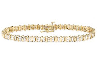 2 ct diamond tennis bracelet from ICE.com