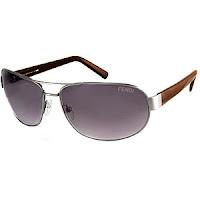 Fendi 398M Metal Navigator Sunglasses
