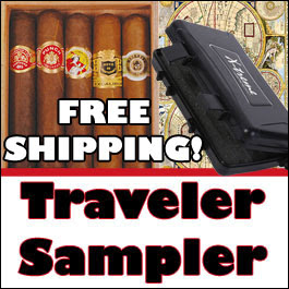 X-treme travel humidor from Tinderbox.com