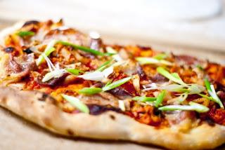 kimchi pizza