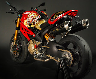 ed hardy ducati monster by rever corsa