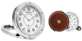 hermes pendulette clipper travel clock