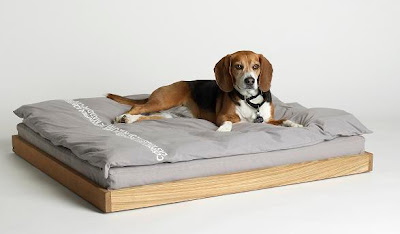 james perse luxury dog bed