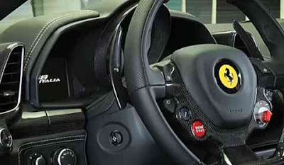 ferrari italia personalization program