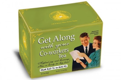get along with coworkers tea