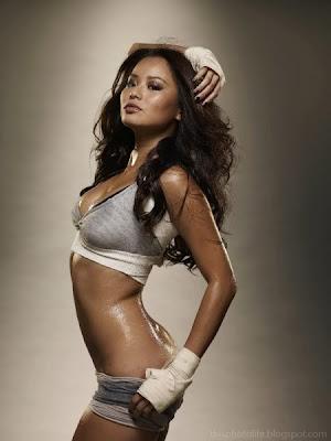 jamie chung boxing bikini