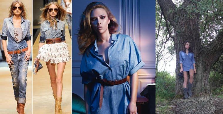 Camisas y Blusas Compra lo último online H&M - imagenes de camisas vaqueras para mujer