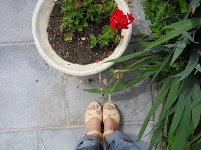 sandales raphia clergerie