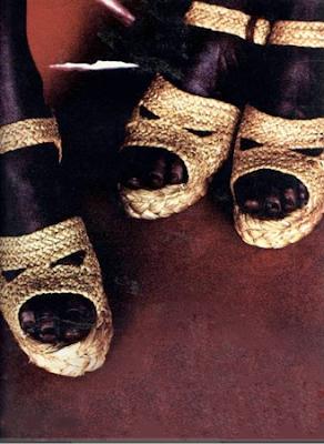 Robert Clergerie, Arco Sandals, 1991
