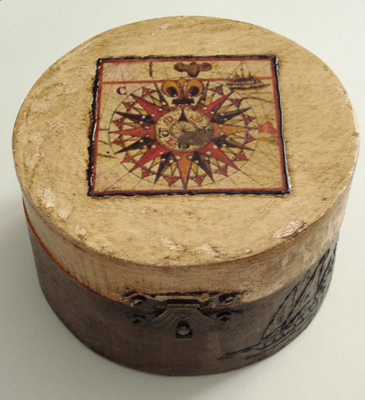 Manualidades y otros entretenimientos decorar caja de madera - Manualidades con caja de madera ...