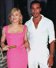 Madonna y Carlos León, en el anuncio del embarazo de Lola