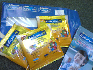 percuma Sample enfagrow A= Mead johnson