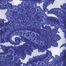 Kiko Blue Paisley