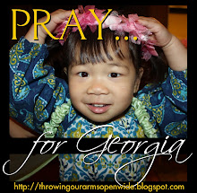 PRAY for Sweet Georgia