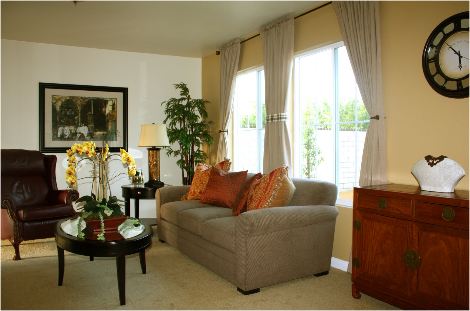 Fine design layers of design putting a room together for Normal living room designs