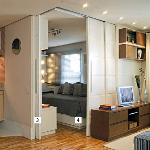 decoracao sala kitnet : decoracao sala kitnet: Mônica Alencar *.*.*: Criatividade para decorar esta Kitnet de 36m2