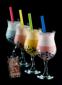 Bubble tea is very popular in