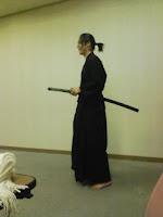 越谷市モダン井戸端会議(忍者パーティー)で日本文化を披露。