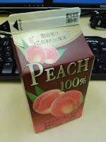 農協果汁こだわりの果実PEACH100%は果実由来の糖を使用の巻。