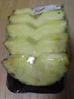 大好きなパイナップル(フィリピン産)の巻。